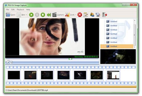 PSG FLV Image Capture
