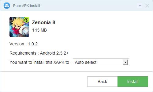 Pure APK Install