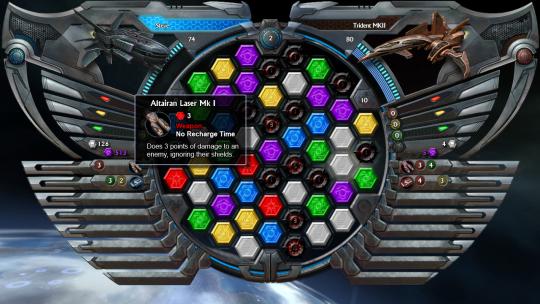 Puzzle Quest: Galactrix demo