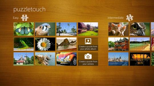 PuzzleTouch for Windows 8
