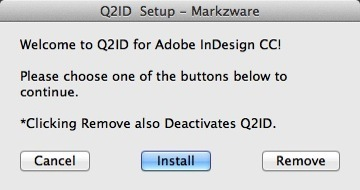Q2ID InDesign CC