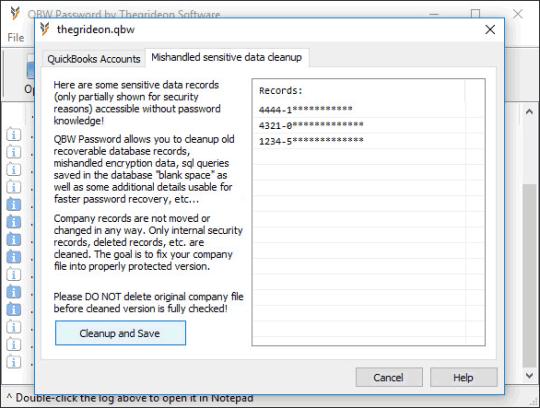 QBW Password