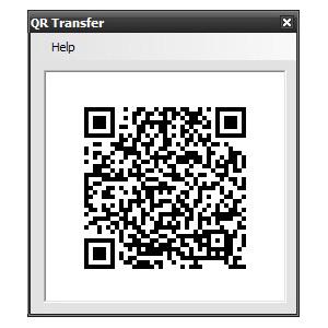 QR Transfer