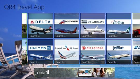 QR4 Travel for Windows 8