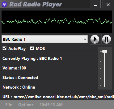 Rad Radio Player
