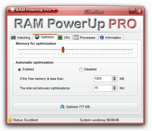 RAM PowerUp
