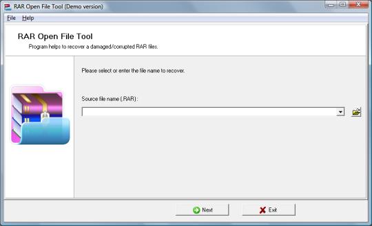 RAR Open File Tool