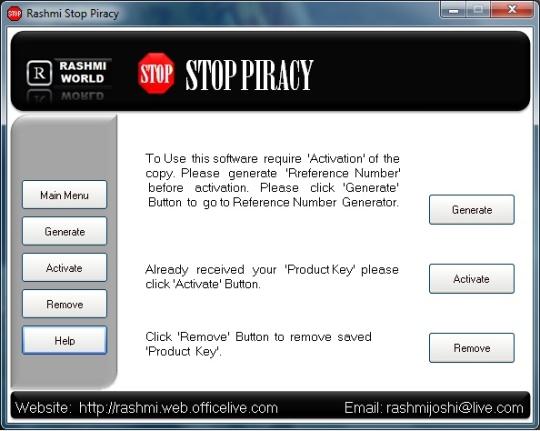 Rashmi Stop Piracy
