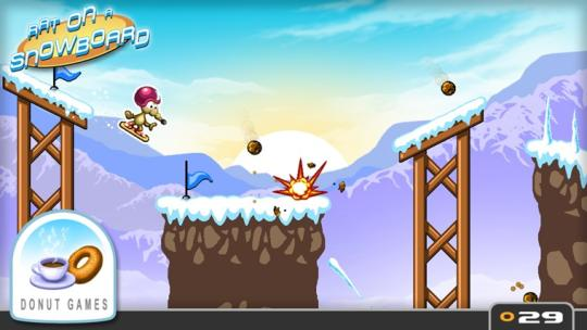 Rat on a Snowboard for Windows 8