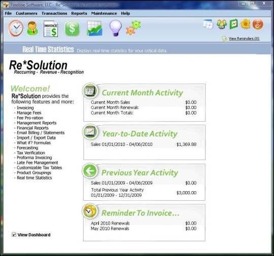 Re Solution Software