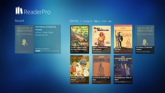 ReaderPro for Windows 8