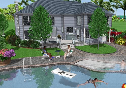 Besplatno Skachat Realtime Landscaping Architect 2013 Dlya Windows Programmnoe Obespechenie
