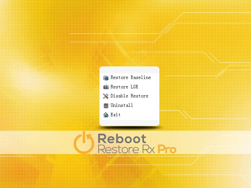 Reboot Restore Rx Pro