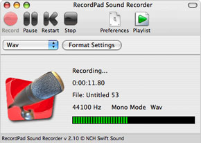 RecordPad Sound Recorder Free