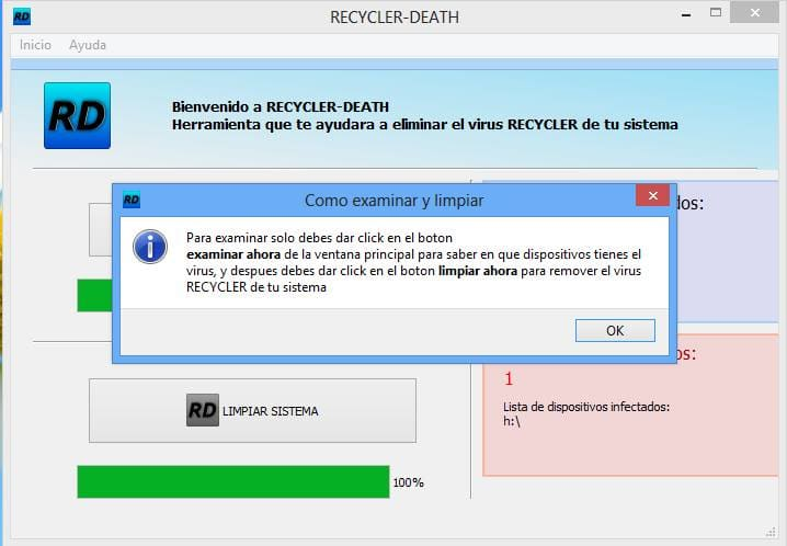 Recycler Death