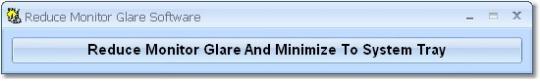 Reduce Monitor Glare Software