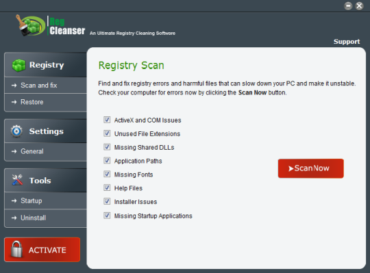 RegCleanser