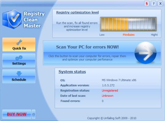 Registry Clean Master