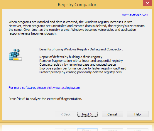 Registry Compactor