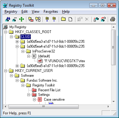 Registry Toolkit Portable