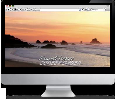 Relaxing Ocean Screensaver