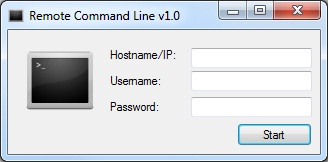 Remote Command Line