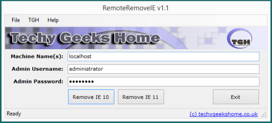 RemoteRemoveIE