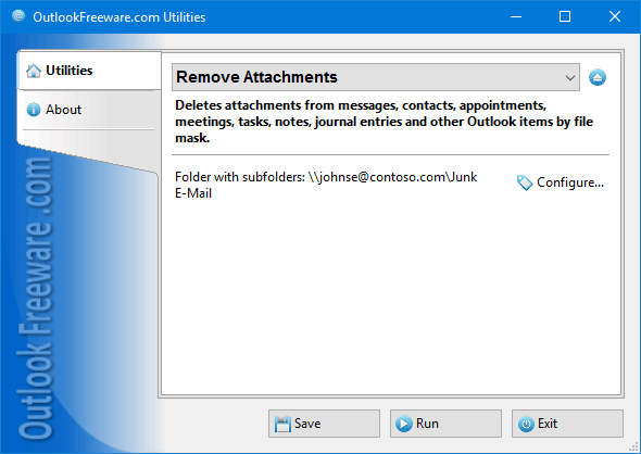 Remove Attachments for Outlook