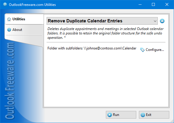Remove Duplicate Calendar Entries for Outlook