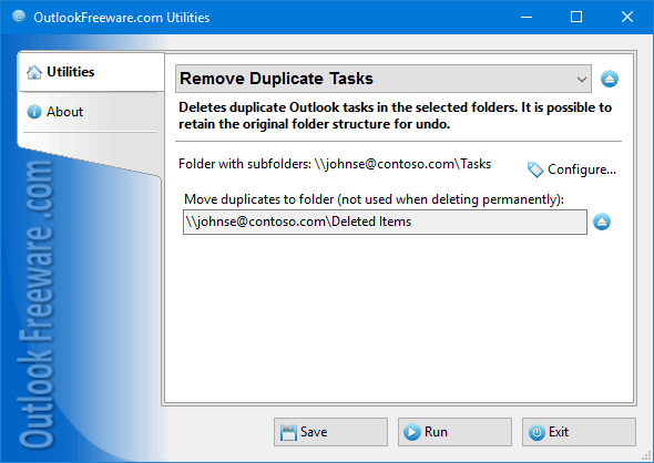 Remove Duplicate Tasks