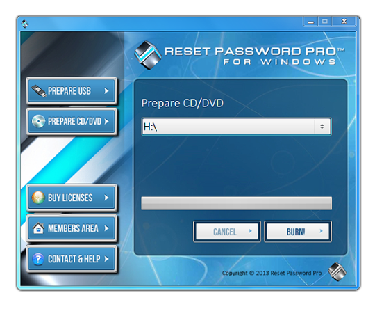 Reset Password Pro Free