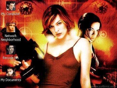 Resident Evil The Movie Desktop Theme