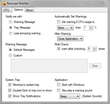 Resload Notifier