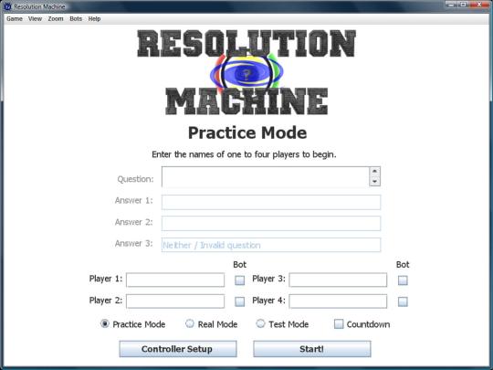 Resolution Machine