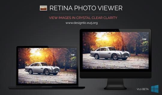 RetinaPhoto Viewer