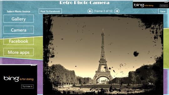 Retro Photo Camera for Windows 8