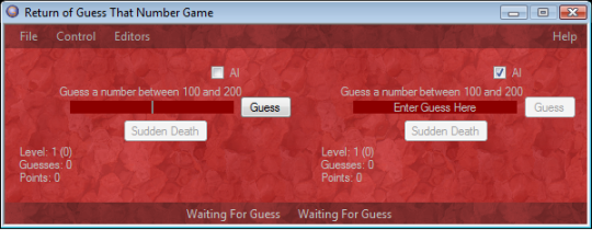 Return of Guess That Number Game
