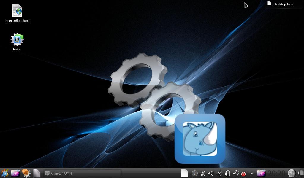 RhinoLINUX KDE Edition