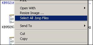 Right Click File Selector