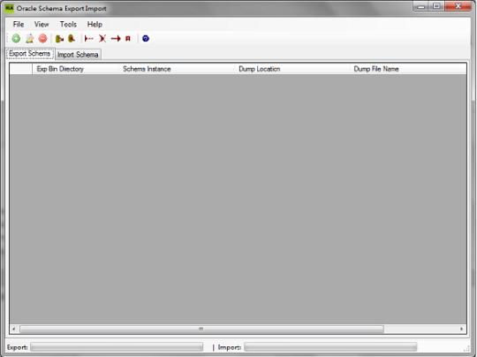 RLA Oracle Schema Export Import