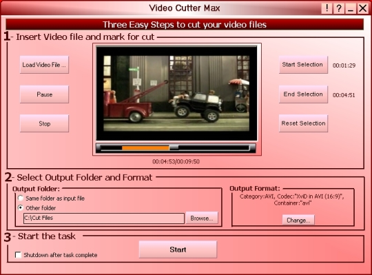 Robust Video Cutter Max