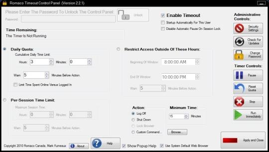 Romaco Timeout (64-bit)