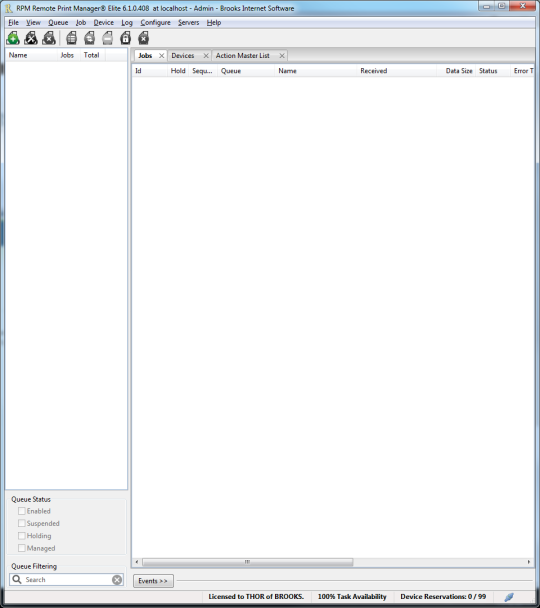 RPM Remote Print Manager Select (32-bit)