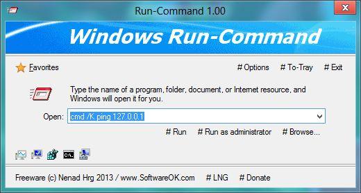 Run-Command Portable (32-bit)
