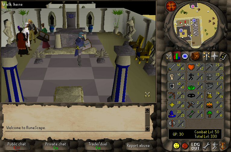 the different aspects that made runescape a great massive multiplayer online role playing video game The plan is to keep the oldschool runescape name for a few months, maybe a year depending on how player numbers are looking, then drop the 3 and simply call the game runescape again — much like what happened with runescape 2 back in 2004.