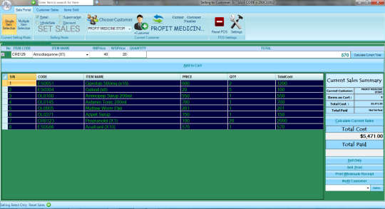 RxSoft Pharmacy Management System