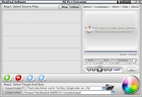 RZ FLV Converter