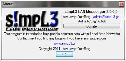 S!mpL3 LAN Messenger