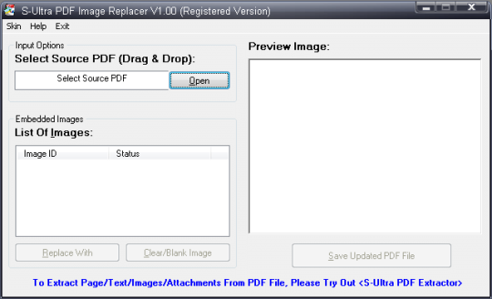 S-Ultra PDF Image Replacer
