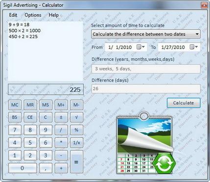 SA Calculator